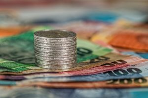 coins, banknotes, money