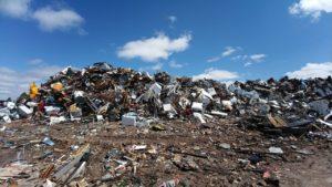 scrapyard, metal, waste