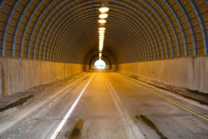 tunnel, road, highway