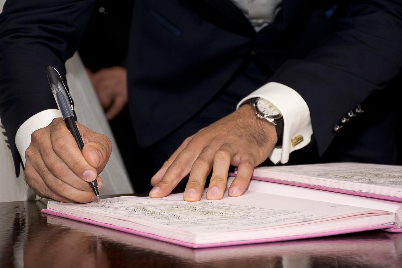 mayor, signature, sign