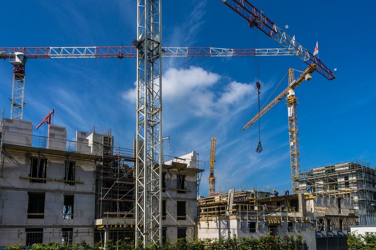 site, architect, construction work