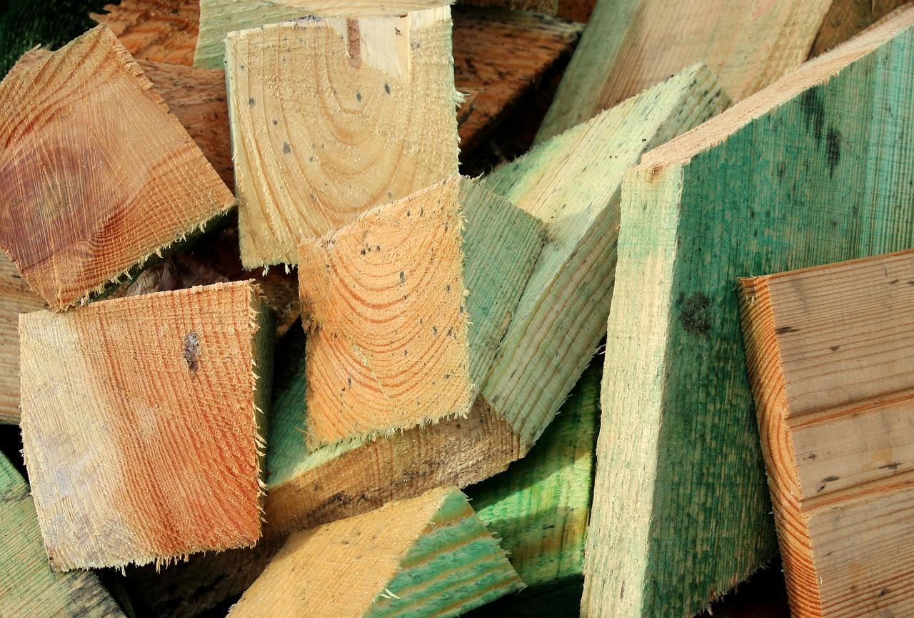 wood, cut the, building materials