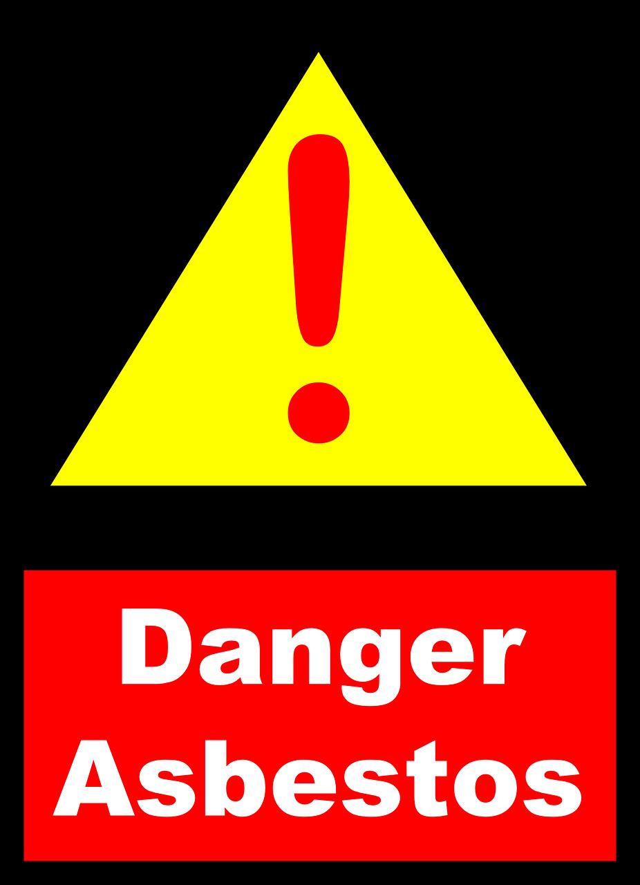 asbestos, danger, warning