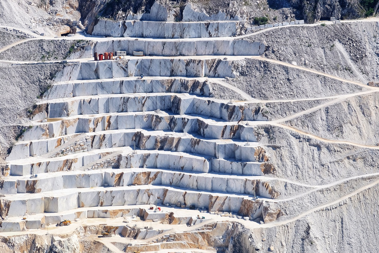 tuscany, quarry, marble
