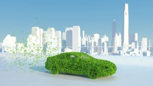 leaves, car, sustainable car
