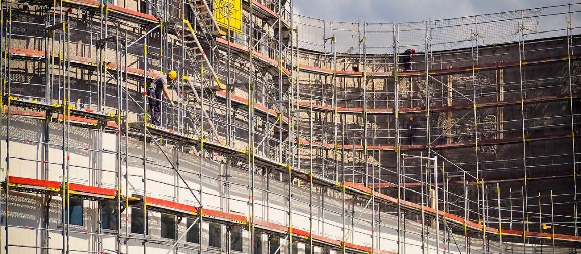 construction, site, construction work