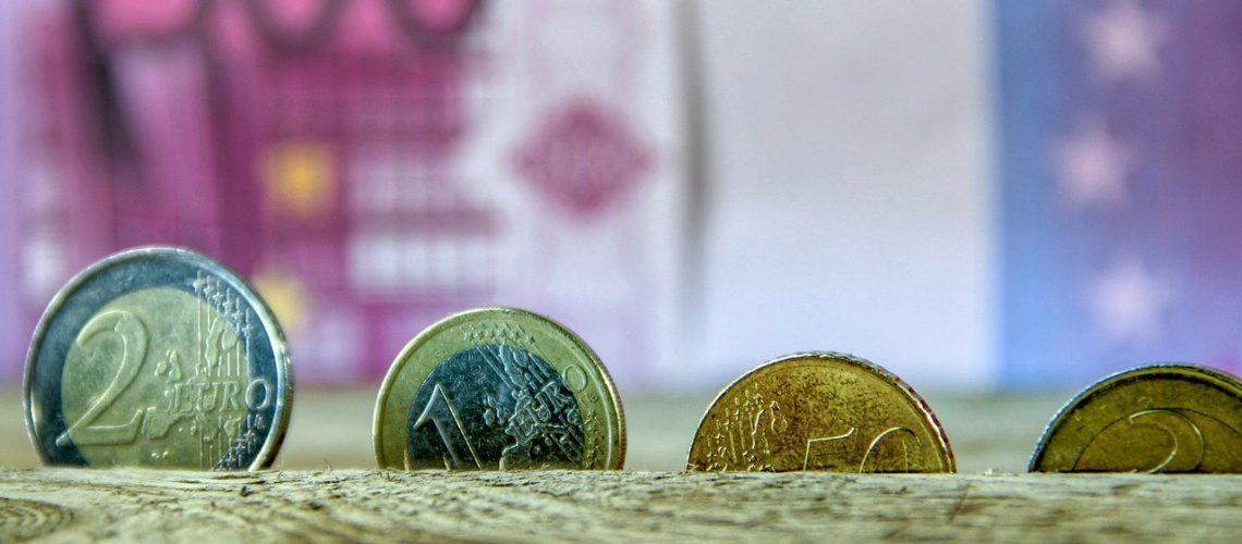 euro, money, coins