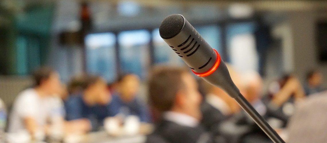 microphone, active, talk