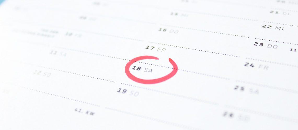 time, calendar, saturday