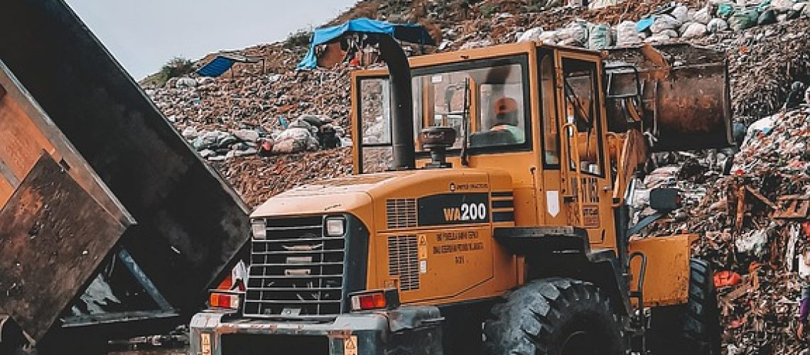 tractor, dump site, truck-5766863.jpg